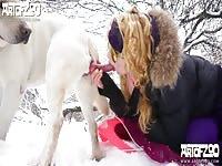 Yasmin tender suck - Dog Porn