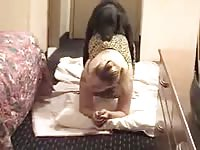 Housewife And Her Dog4