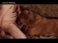 Man With Male Dog Bensdogtoy Untitled 20050224 1