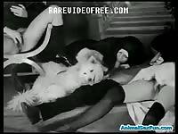 Rarevideofree: Nuns having animal sex in vintage porn
